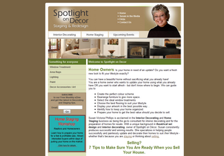 Old SpotlightOnDecor .com site